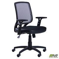 Крісло Онлайн сидіння Сітка чорна/спинка Сітка сіра AMF