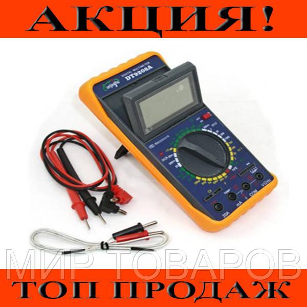 Мультиметр цифровой DT-9208 А!Хит цена