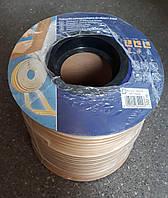 Самоклеющийся резиновый уплотнитель D 9х7.5 (100м) белый