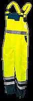 ПОЛУКОМБИНЕЗОН ВОДОСТОЙКИЙ СИГНАЛЬНЫЙ NEO 81-775 oxford жёлтого цвета