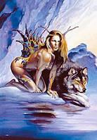 """Пазлы Castorland """"Девушка и волк"""" 1000 элементов 101191"""