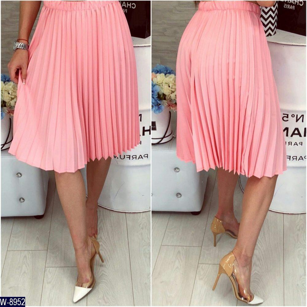 Плесированая юбка   (размеры 46-48)  0090-62