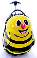Детский пластиковый чемодан на колесах Пчела 2178-1, 17 дюймов