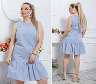 Женское летнее  платье , лен  48, 50 , 52, фото 1