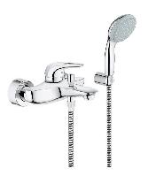 Смеситель для ванны Grohe Eurostyle c душевым гарнитуром 33592003