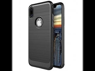 Чехол накладка Luxury Carbon Fiber iPhone X