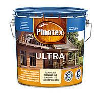 Пропитка c лаком для защиты дерева Пинотекс Ультра Pinotex ULTRA бесцветный 10л