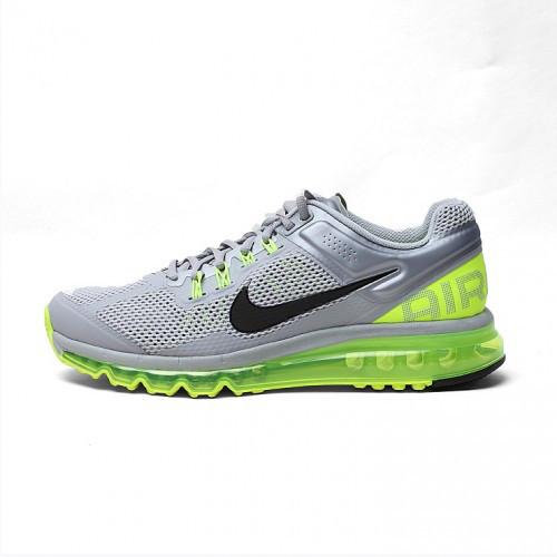 Мужские серебристо-кислотные кроссовки Nike Air Max(Аир Макс) 2013 - 033M 1ec915c8d66