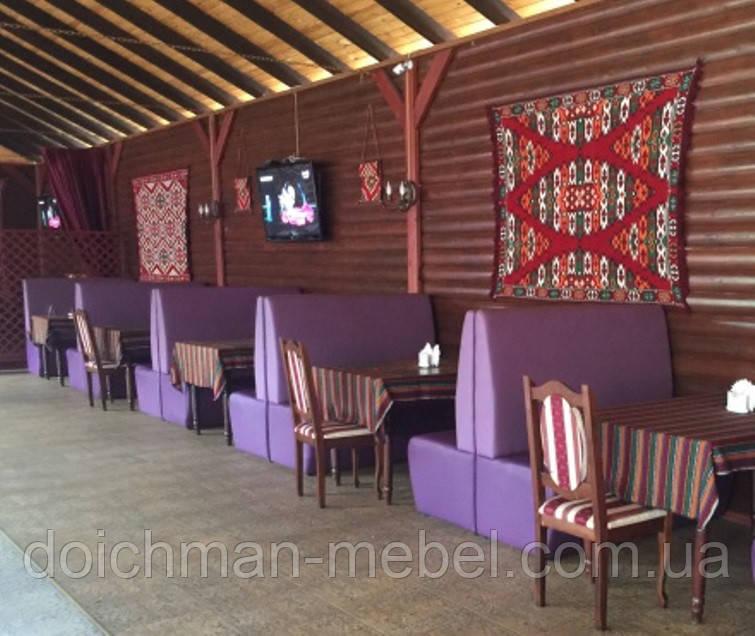 Качественные диваны в кафе, бары, клубы, рестораны от производителя в Украине