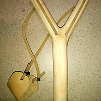 Рогатка деревянная ручной роботы., фото 1