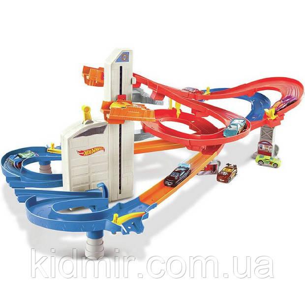 Хот Вілс Трек Автоматичний швидкісний ліфт, Auto Lift Expressway Playset Hot Wheels