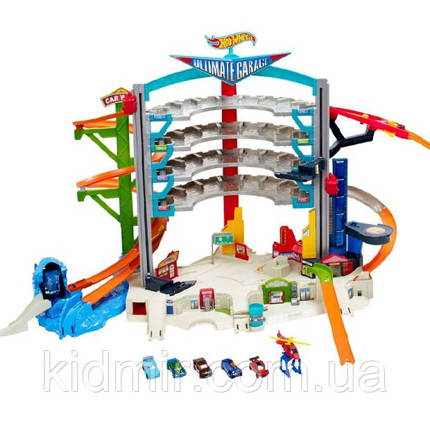 Хот Вилс Трек Легендарный гараж, Ultimate Garage Playset Hot Wheels