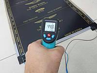 Инфракрасная пленка сплошная 0.50 х 1.25 готовый комплект с проводами и вилкой.