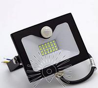 Прожектор светодиодный с датчиком движения 20Вт, 6500K LMPS25 чёрный