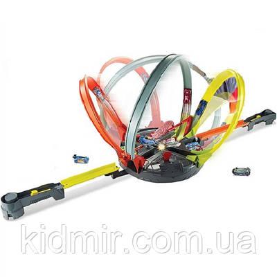 Детский авто трек Хот Вилс Революционные гонки Roto Revolution Track Hot Wheels