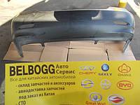 Бампер задний оригинал без отверстий под парктроник BYD F3, Бид Ф3, Бід Ф3