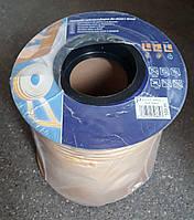 Самоклеющийся резиновый уплотнитель Р 9х5.5 (100м) белый