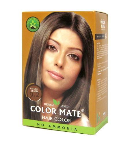 "Хна Краска д/волос ""Color Mate"" 9.2 Natural Brown 15 г"