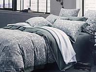 Комплект постельного белья лен жаккард  Prestij Textile 30353
