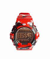 Часы Sport электронные водонепроницаемые. Красный, фото 1