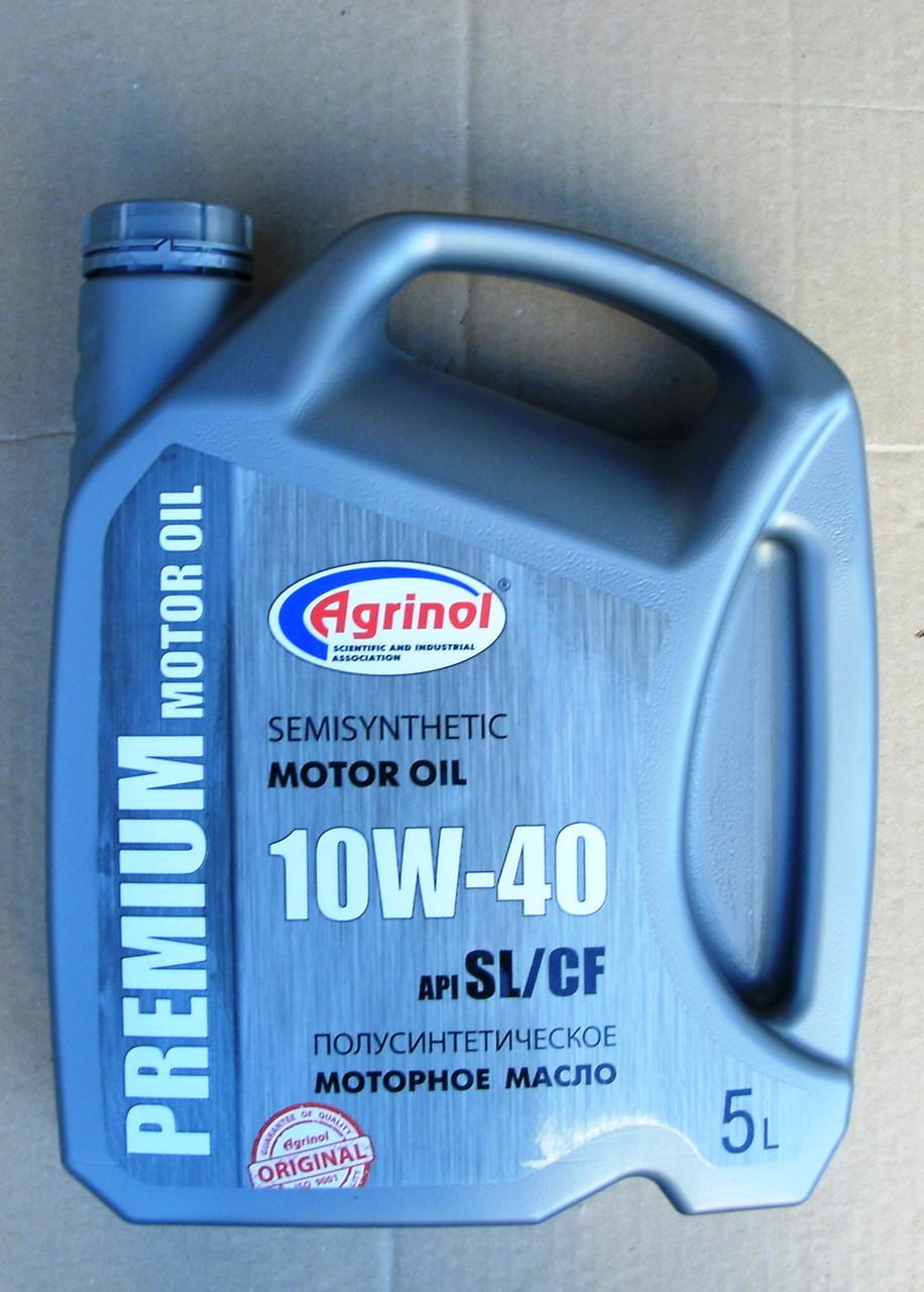 Полусинтетическое масло 10W-40 SL/CF (5 л)