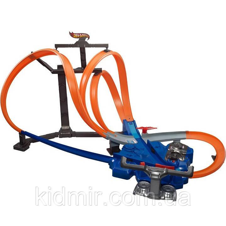Хот Вілс Мега авто трек Віртуальна реальність Hot Wheels Triple Track Twister