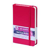 Блокнот для графики Talens Art Creation 9*14см 80л 140г/м красная обложка