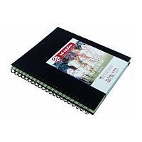 Блокнот для графики Talens Art Creation 21,5*28см 80л 110г/м черная обложка на спирали