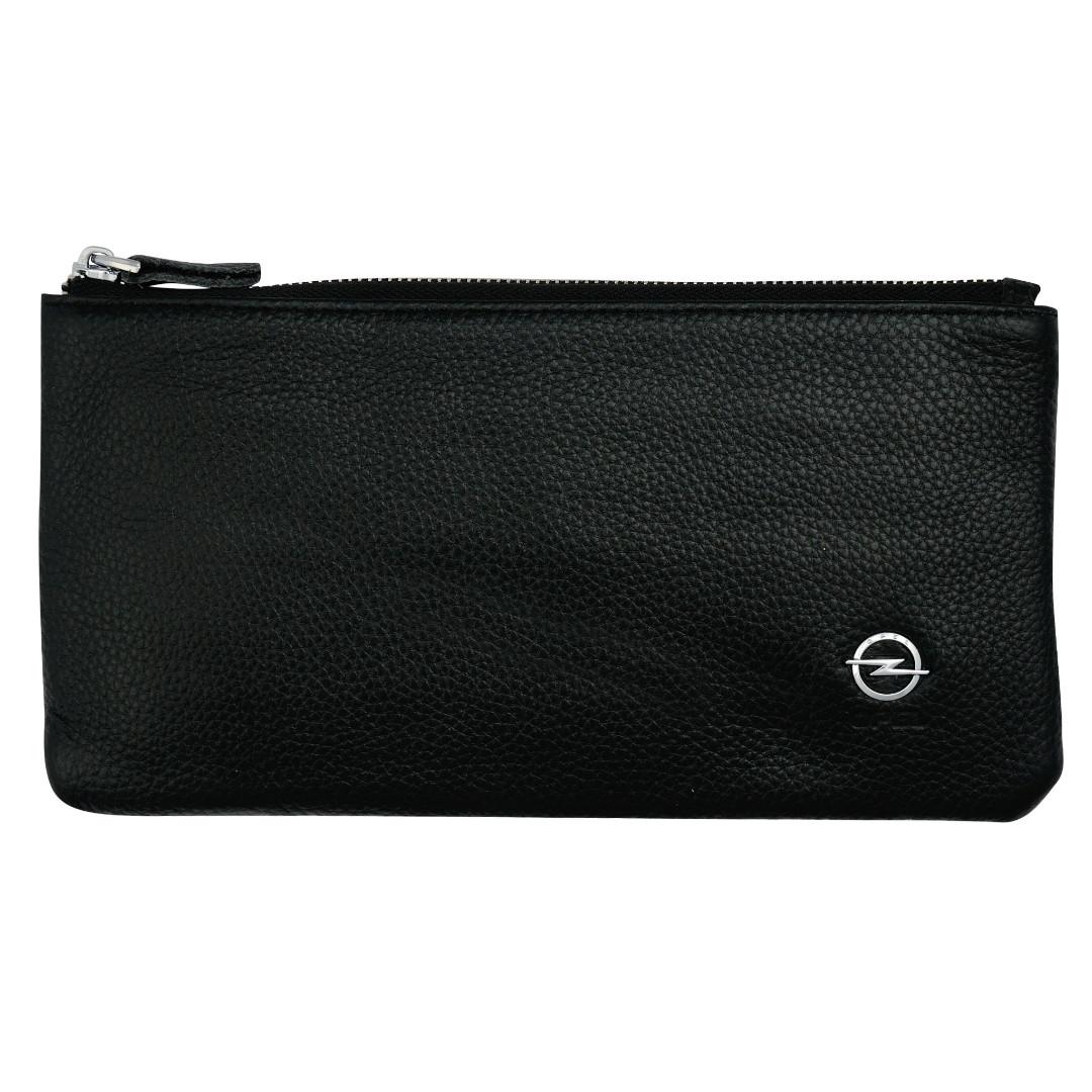 Cумка-клатч кожанная с логотипом Opel  (Опель)