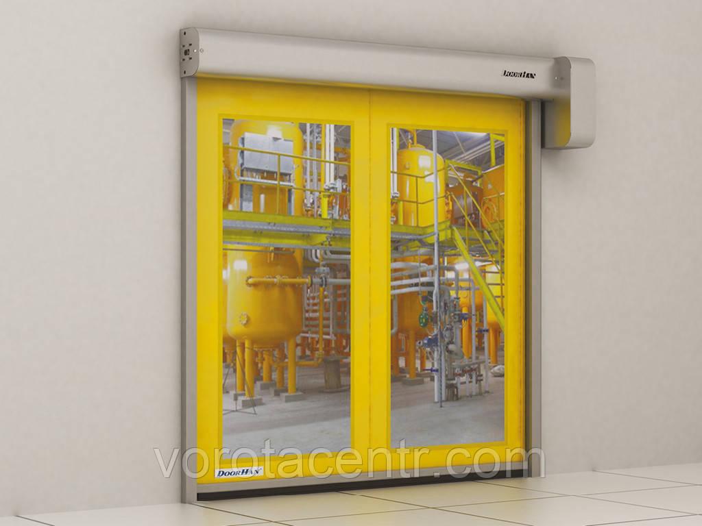 Скоростные рулонные ворота для пищевой промышленности DoorHan Speedroll SDF