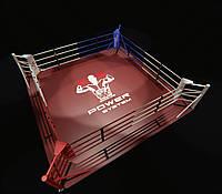 Боксерский ринг напольный, профессиональный 5х5 метра