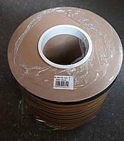 Самоклеющийся резиновый уплотнитель D 14х12 (40м) чёрный