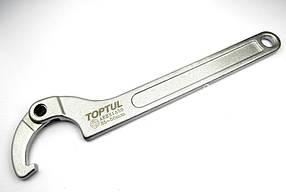 Ключ шарнирный для круглых шлицевых гаек 120-180мм TOPTUL AEEX1AA8