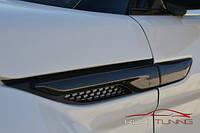 Тюнинг Range Rover Evoque накладки на крыло и дверь (Карбон)