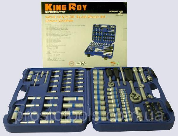 Набор инструмента 94 предмета King Roy 7378