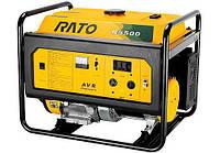 Бензиновый синхронный электрогенератор (электростанция) Rato R5500 с электростартером