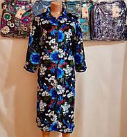 Женский халат велюровый S-2, фото 1