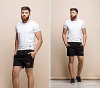 "Мужские шорты на резинке ""Paul and Shark"" с карманами"