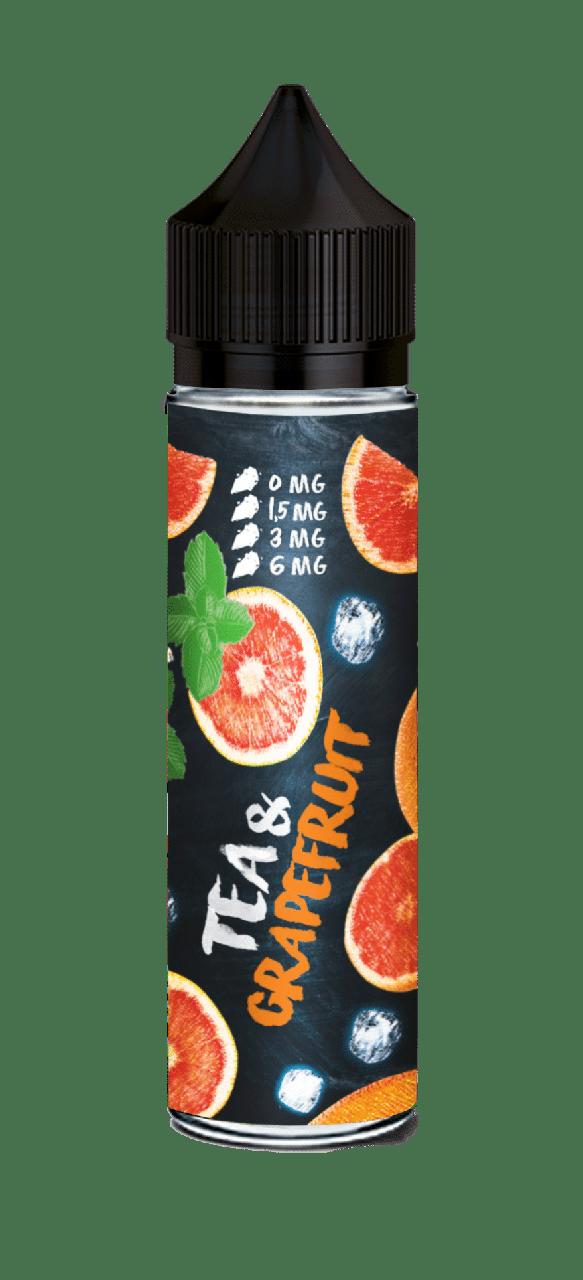 Премиум жидкость для электронных сигарет Tea & Grapefruit