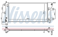 Радиатор охлаждения +AC NISSENS Nissan Leaf AZE0 (13-17) 21410-3NF0A
