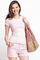 Розовая женская футболка De Facto / Де Факто, фото 1