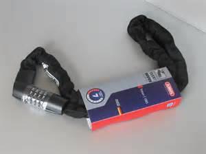 Ланцюг протиугінна ABUS 1385/110 Tresor black