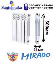 Радиатор биметаллический для отопления 500х96 (Mirado)