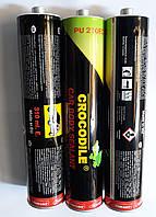 Герметик полиуритановый CROCODILE 310мл (картридж) чёрный