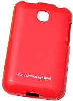Чехол-накладка VOIA LG Optimus L3II Dual - Jelly Case (Red)