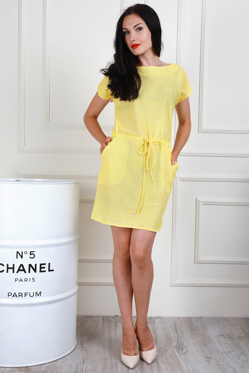 Легке літнє плаття з кишенями, 42-44, 46-48, 50-52