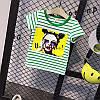 Детская полосатая футболка с рисунком, фото 4