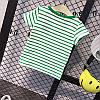 Детская полосатая футболка с рисунком, фото 6