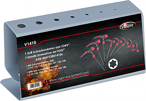Набор отверток TORX® T-образных, VIGOR, V1410, фото 3