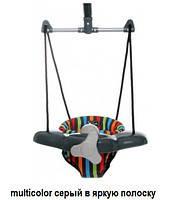 Детские прыгунки ABC Design Twister 2014 Multicolor (8251А/404)серый с яркими полосами